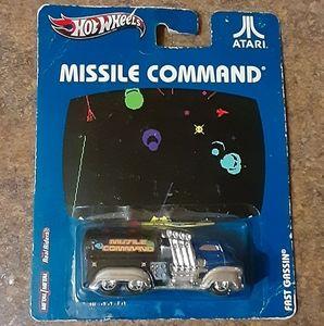 Mattel Hot Wheels Atari Missile Command Fast Gassi